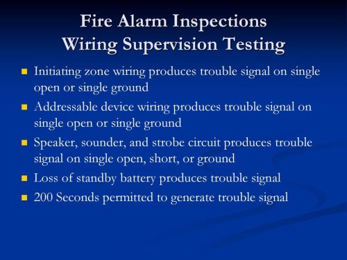 small resolution of 81 fire alarm inspections wiring supervision testing initiating