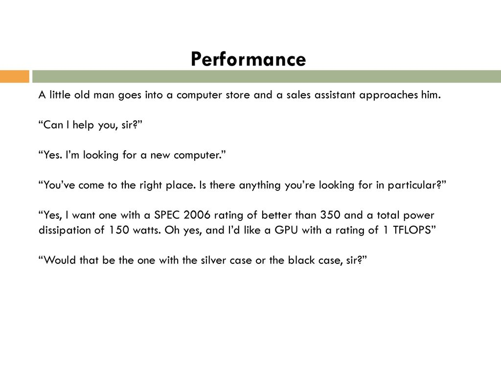 performance meaning and metrics