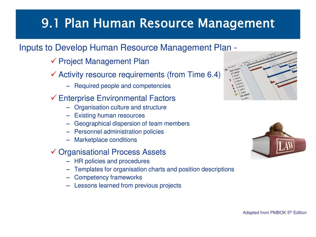 No project can be protected from every natural disaster or systemic vulnerability, but organizations can identify the risks that may ne. 9 1 Plan Human Resource Management Ppt Download