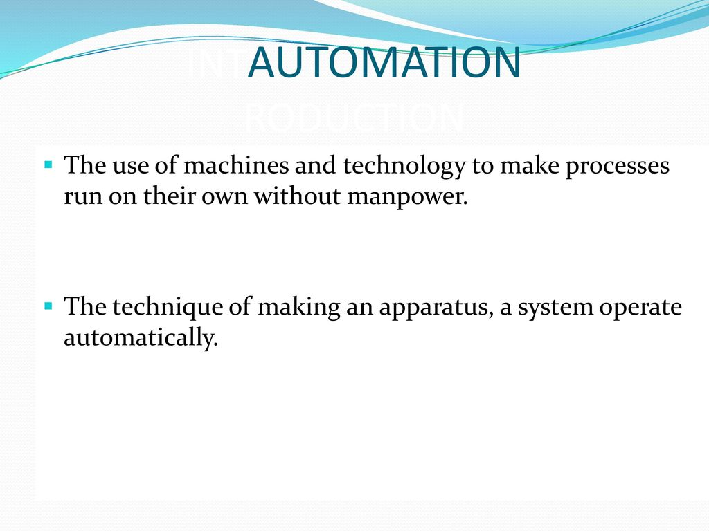hight resolution of 3 intautomation roduction