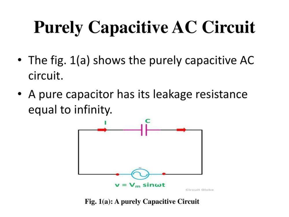 medium resolution of purely capacitive ac circuit