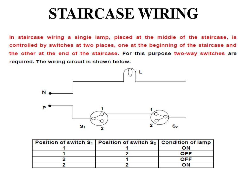 medium resolution of staircase wiring circuit diagram ppt schematic diagram staircase wiring circuit diagram ppt