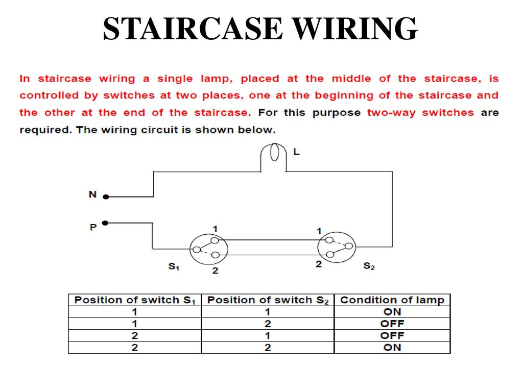 hight resolution of staircase wiring circuit diagram ppt schematic diagram staircase wiring circuit diagram ppt