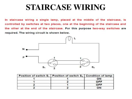 small resolution of staircase wiring circuit diagram ppt schematic diagram staircase wiring circuit diagram ppt