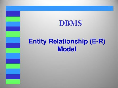 small resolution of entity relationship e r model