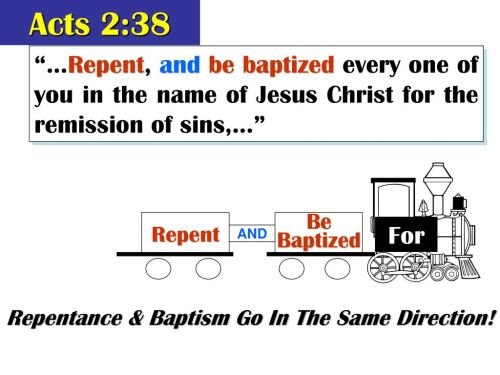 small resolution of repentance baptism go in the same direction