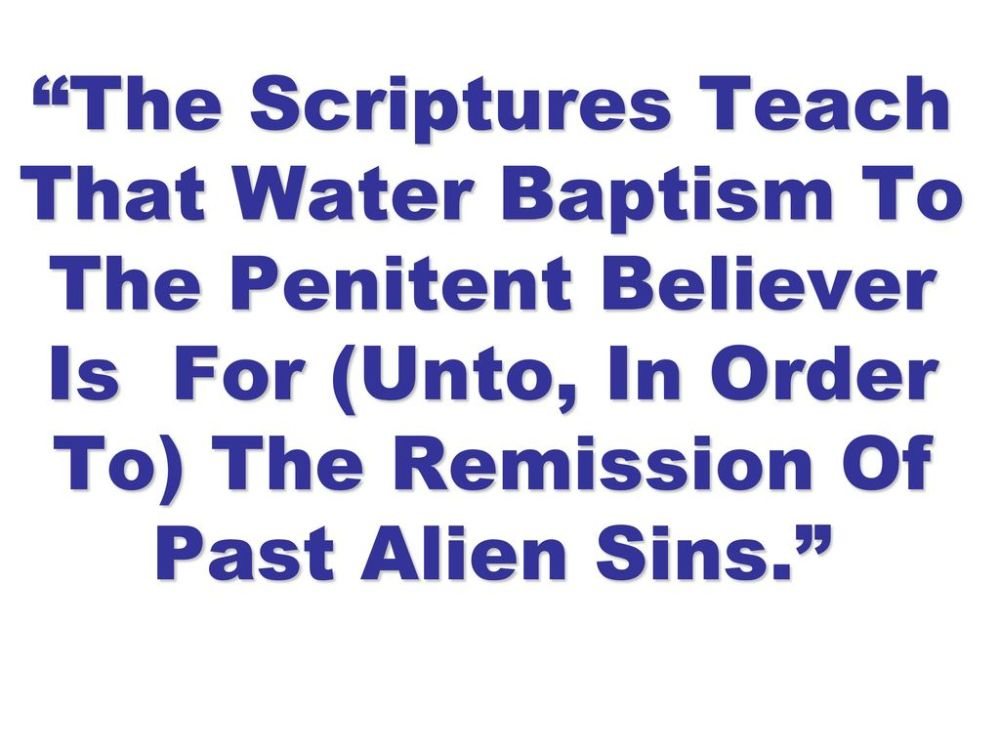 medium resolution of 6 the scriptures teach that water baptism