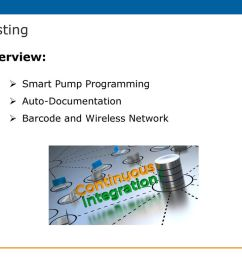 barcode and wireless network testing overview smart pump programming auto documentation [ 1024 x 768 Pixel ]