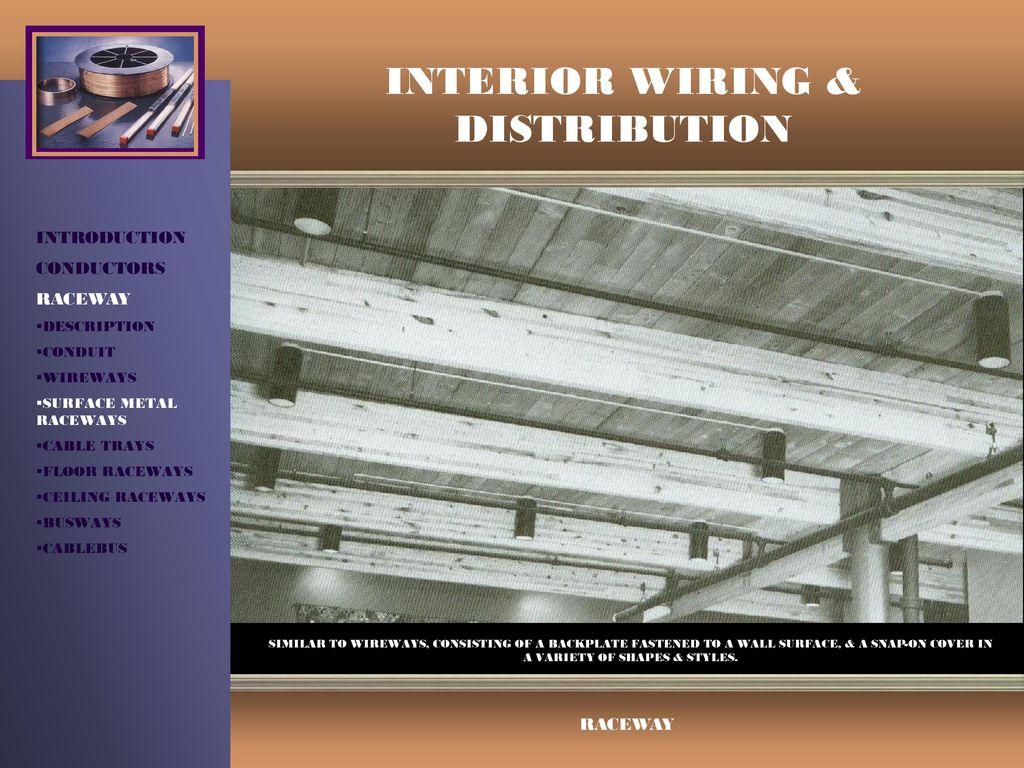 hight resolution of interior wiring distribution