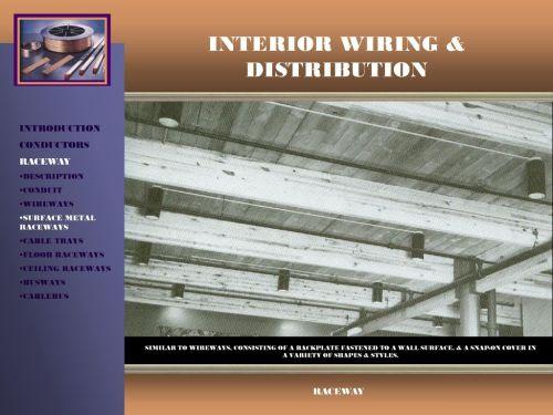 small resolution of interior wiring distribution