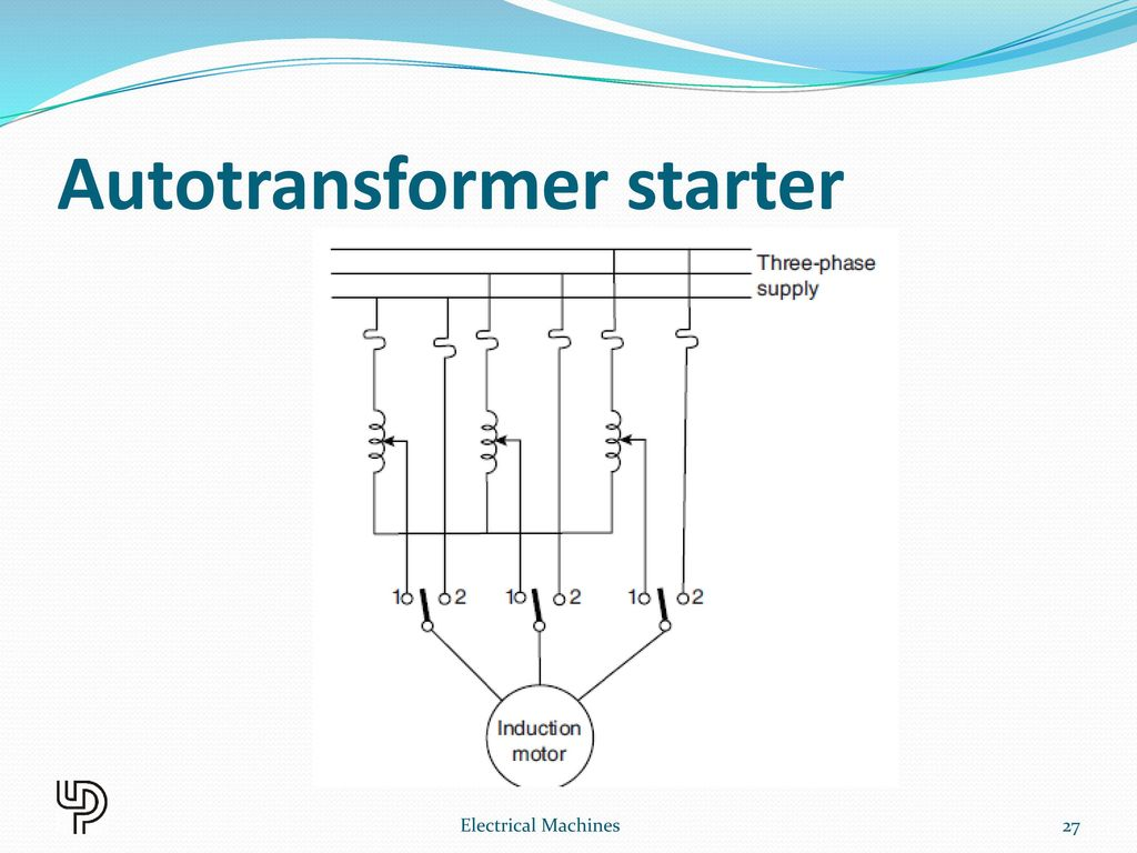 three phase induction motor diagram people flow ppt download autotransformer starter