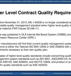 higher level contract quality requirements [ 1024 x 768 Pixel ]