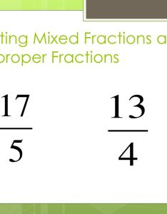 Writing mixed fractions as improper fraction also and decimal review ppt download rh slideplayer