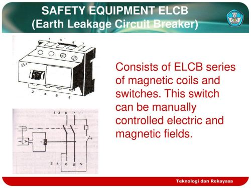 small resolution of safety equipment elcb earth leakage circuit breaker