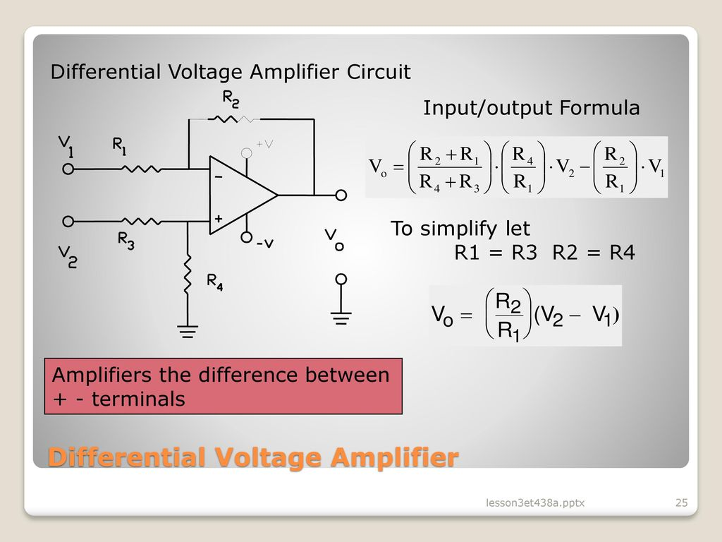 hight resolution of differential voltage amplifier