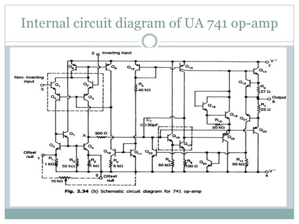 hight resolution of 17 internal circuit diagram of ua 741 op amp
