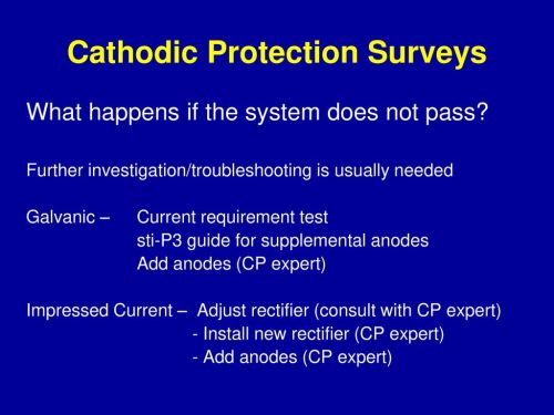 small resolution of cathodic protection surveys