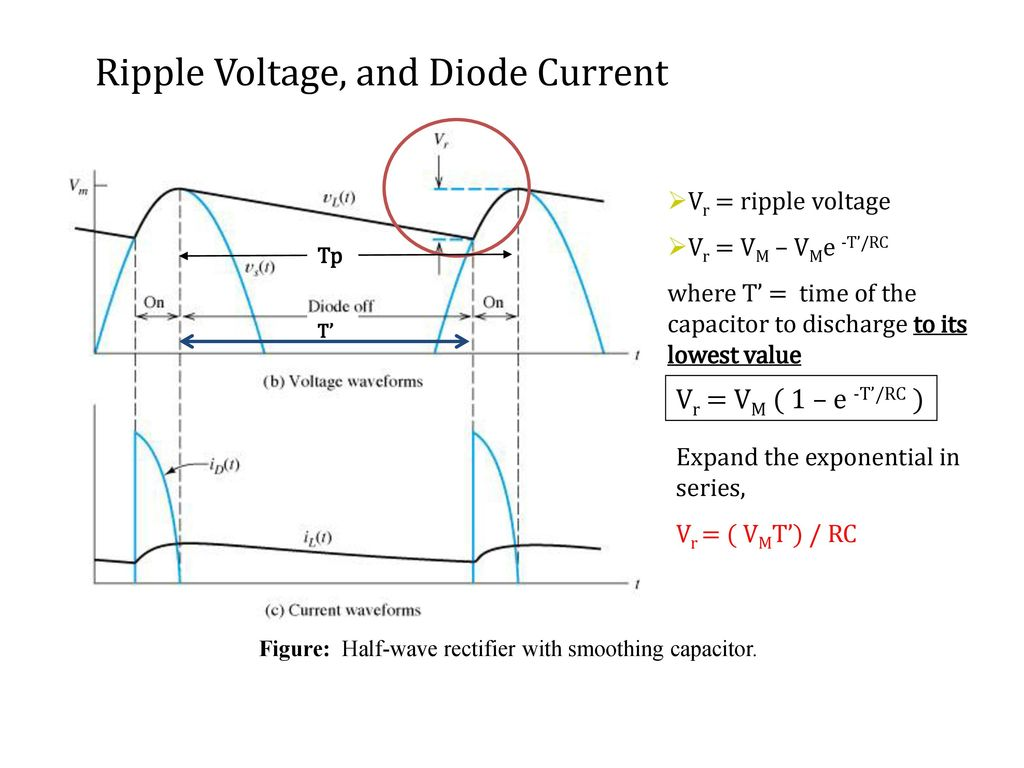 hight resolution of figure half wave rectifier with smoothing capacitor