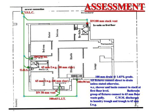 small resolution of assessment i s l c dn100 mm stack vent 100x90 bd