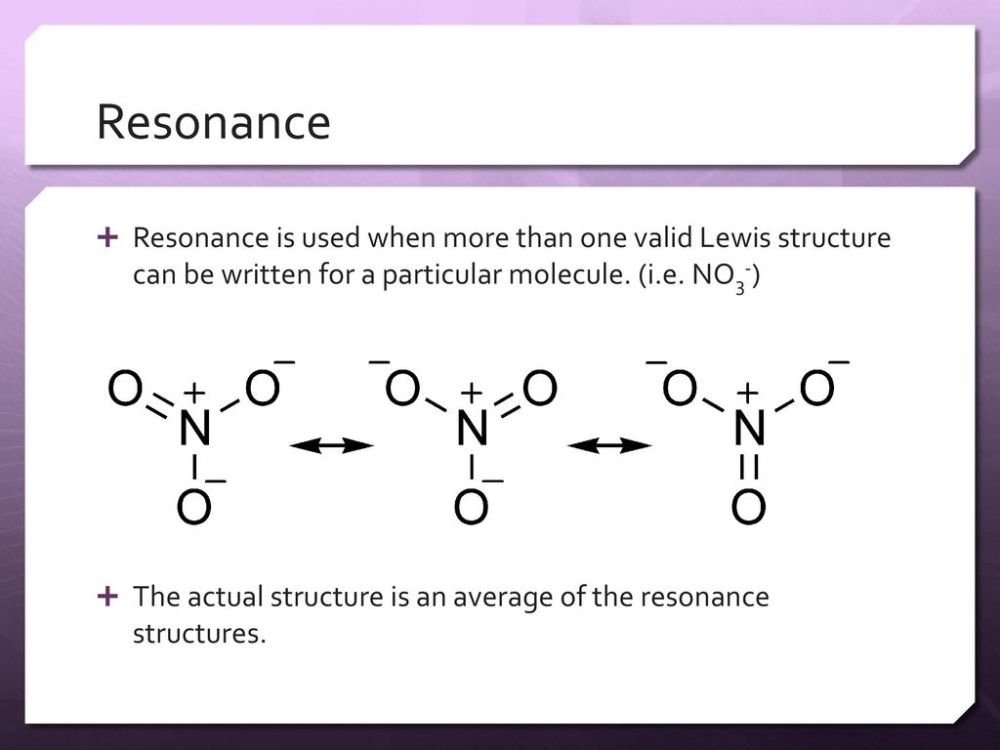 medium resolution of resonance resonance is used when more than one valid lewis structure can be written for a