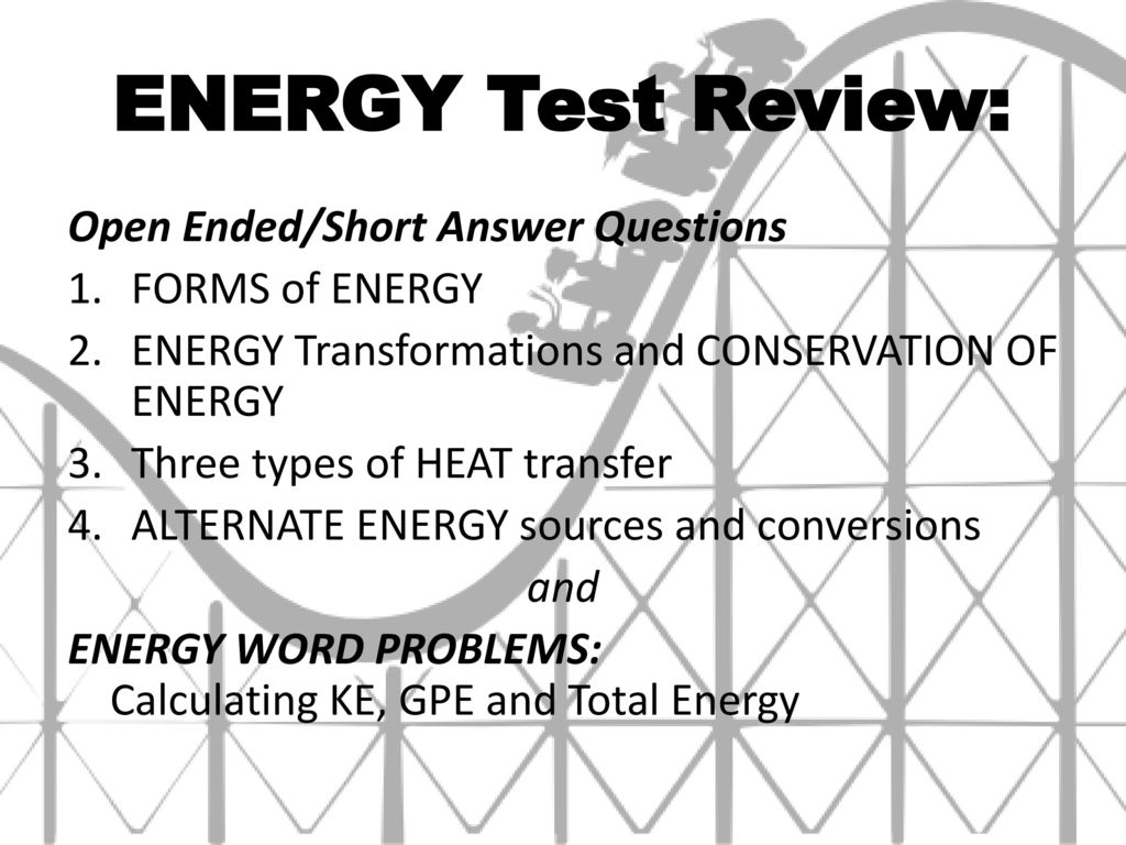 Energy Word Problems 3 4 Solving Energy Problems Involving Phase Changes And Temperature