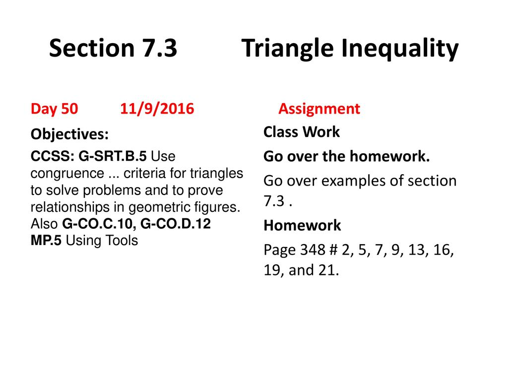 73 Triangle Inequalities Worksheet Answers