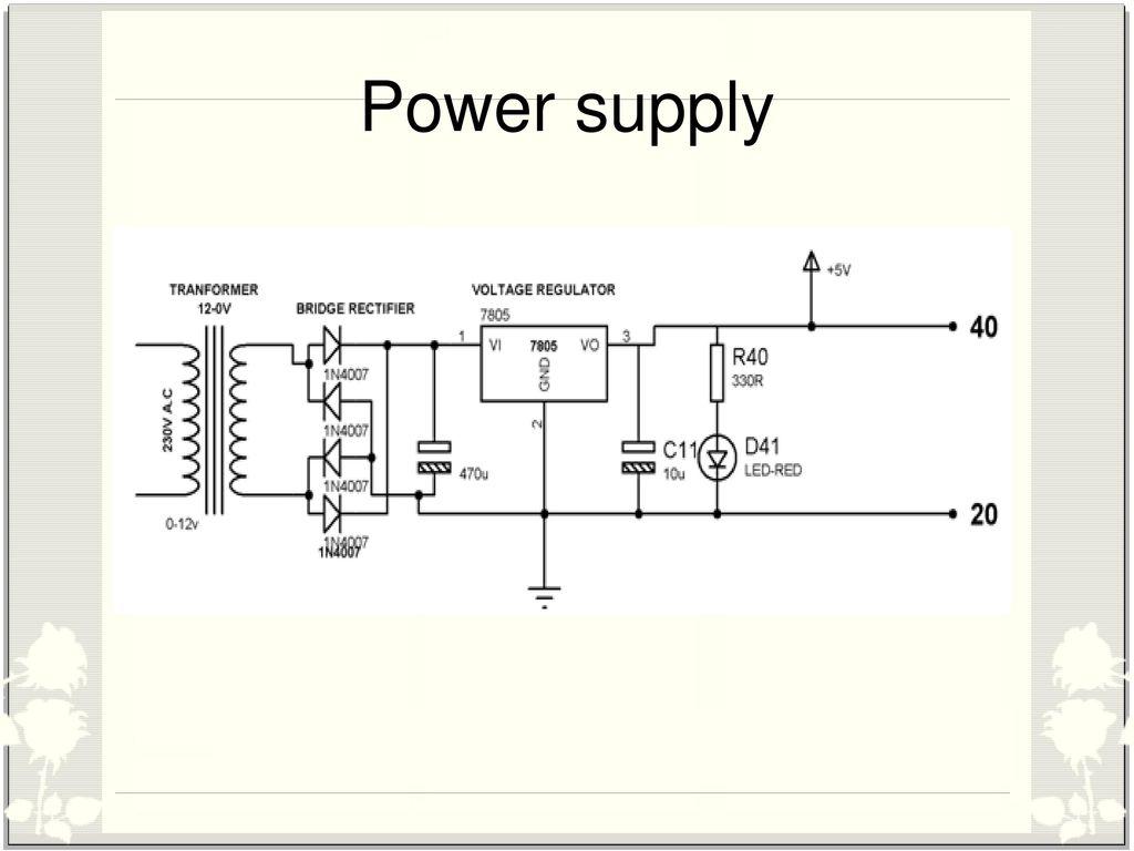 hight resolution of 5 power supply