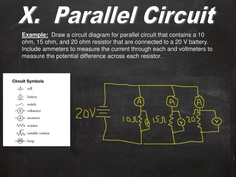 medium resolution of x parallel circuit