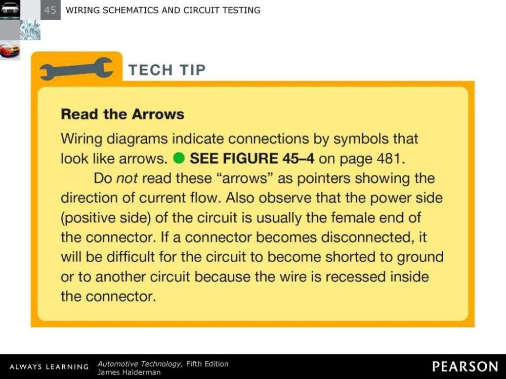 medium resolution of 6 tech tip read the arrows wiring diagrams indicate