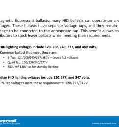 347 volt hid ballast wiring diagram wiring diagram third levelhigh intensity discharge hid ppt [ 1024 x 768 Pixel ]