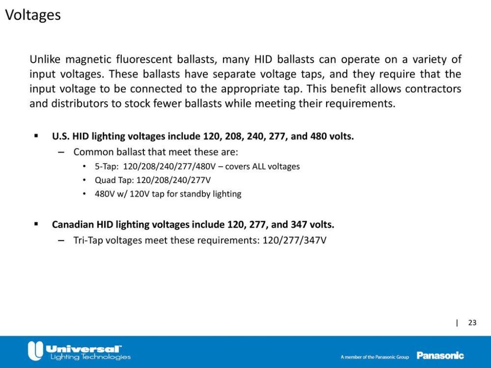 medium resolution of 347 volt hid ballast wiring diagram wiring diagram third levelhigh intensity discharge hid ppt