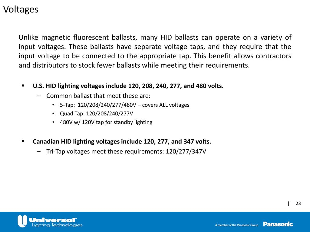 hight resolution of 347 volt hid ballast wiring diagram wiring diagram third levelhigh intensity discharge hid ppt