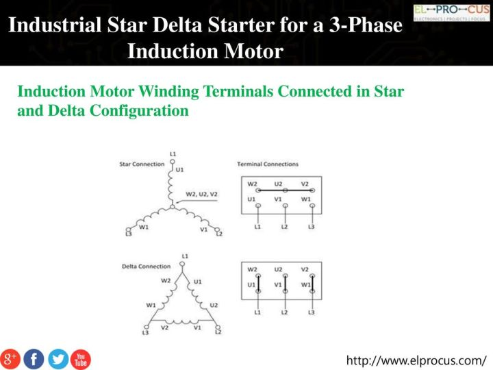 Three Phase Induction Motor Star Delta Connection | Newmotorku.co