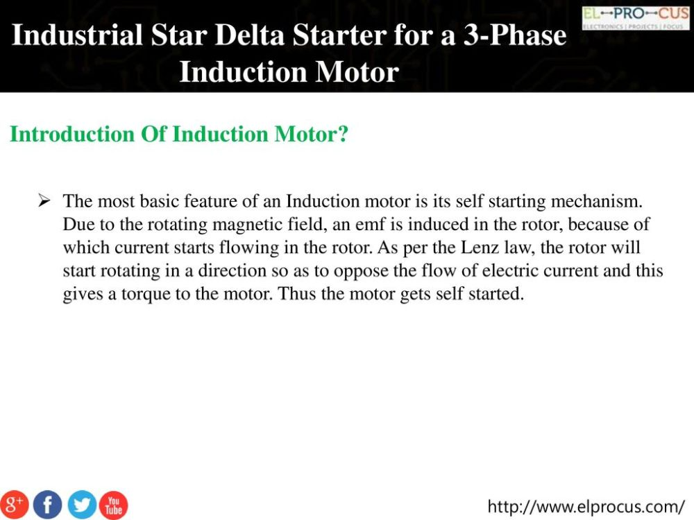 medium resolution of industrial star delta starter for a 3 phase induction motor ppt wiring diagram star delta on induction motor 3 phase electrical