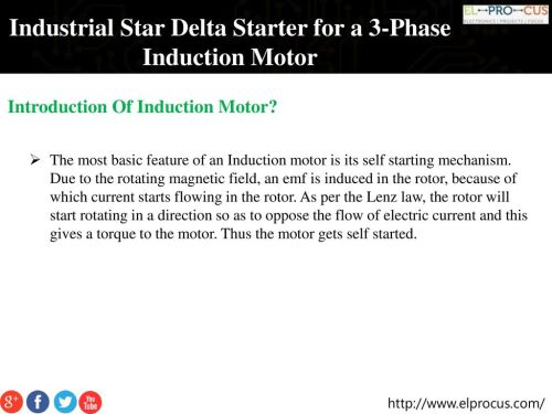 small resolution of industrial star delta starter for a 3 phase induction motor ppt wiring diagram star delta on induction motor 3 phase electrical