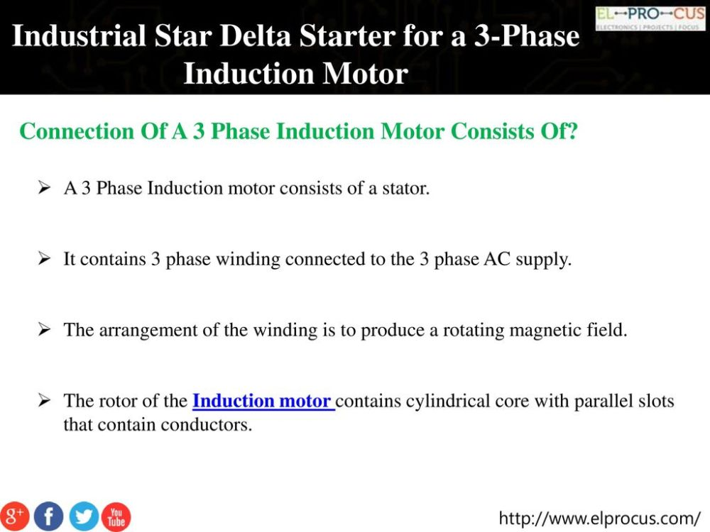 medium resolution of industrial star delta starter for a 3 phase induction motor ppt wiring diagram chapter 11 fullvoltage nonreversing 3phase motors