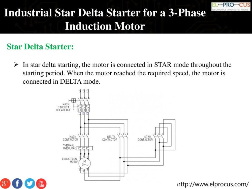 medium resolution of industrial star delta starter for a 3 phase induction motor