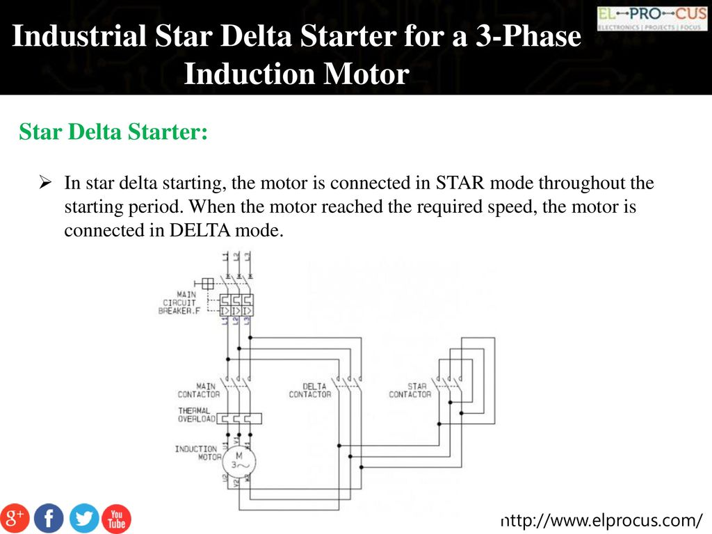 hight resolution of industrial star delta starter for a 3 phase induction motor