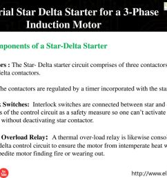 industrial star delta starter for a 3 phase induction motor [ 1024 x 768 Pixel ]