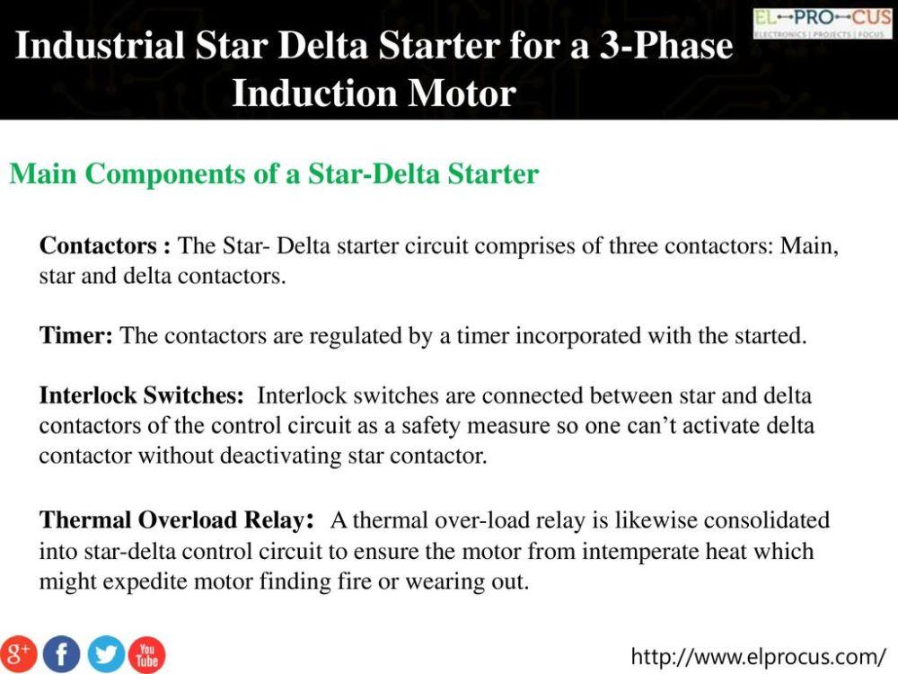 medium resolution of industrial star delta starter for a 3 phase induction motor