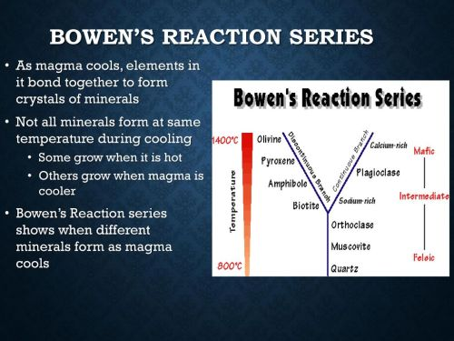 small resolution of 9 bowen s reaction series