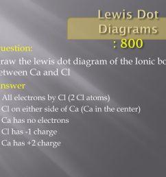 lewis dot diagrams 800 question  [ 1024 x 768 Pixel ]