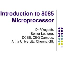 Architecture Of 8085 Microprocessor With Block Diagram Pdf Aquastat Wiring For Polytechnic