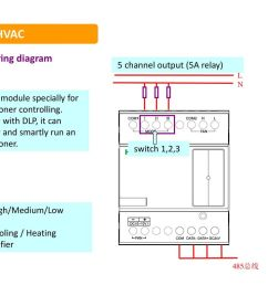 hvac wiring diagram 5 channel output 5a relay  [ 1024 x 768 Pixel ]