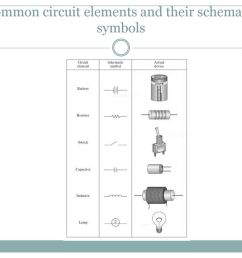 28 common circuit elements and their schematic symbols [ 1024 x 768 Pixel ]