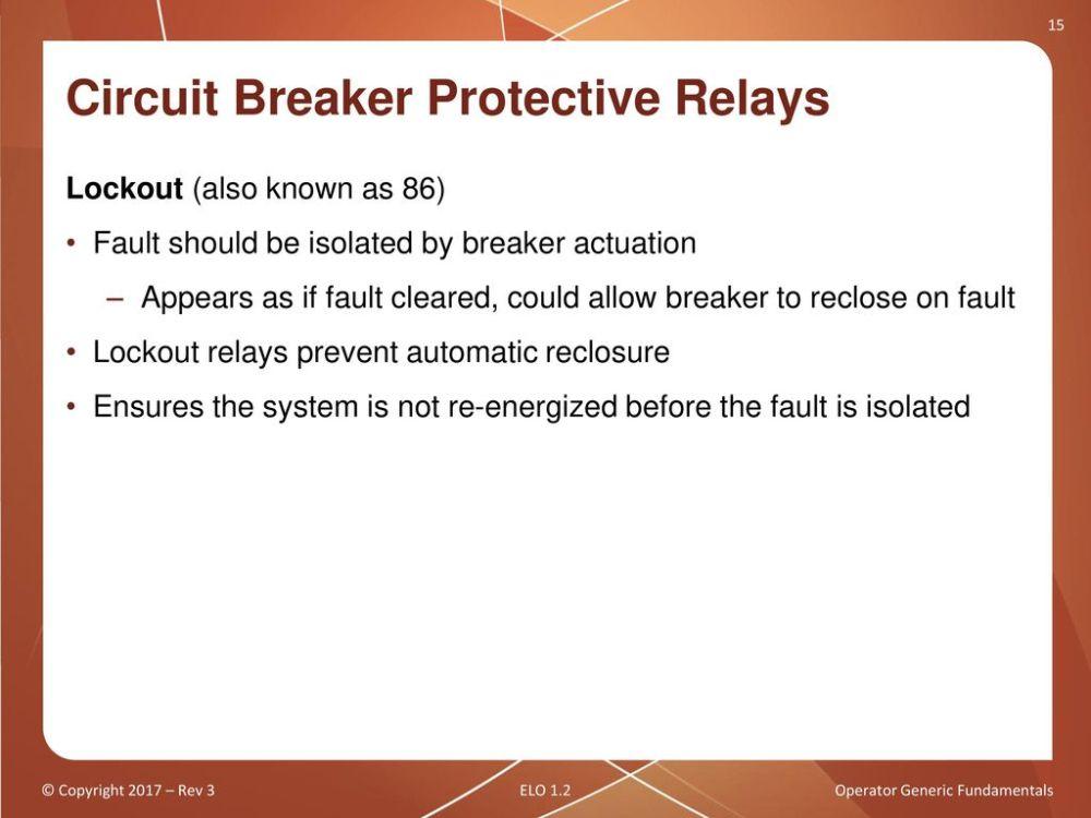 medium resolution of circuit breaker protective relays