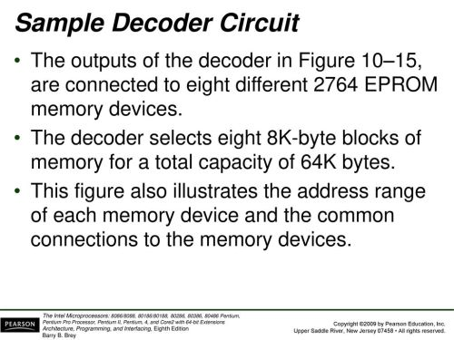 small resolution of figure 10 14 the 74ls138 3 to 8 line decoder and function table 21 sample decoder circuit