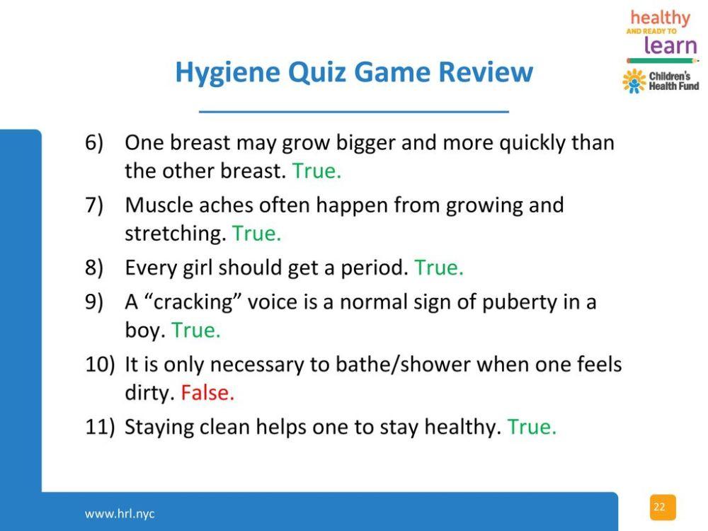 medium resolution of hygiene quiz for 2021