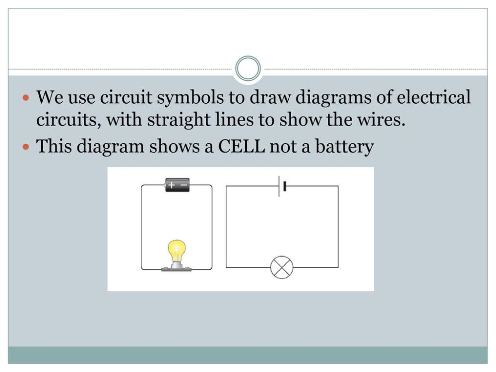 medium resolution of we use circuit symbols to draw diagrams of electrical circuits with straight lines to show