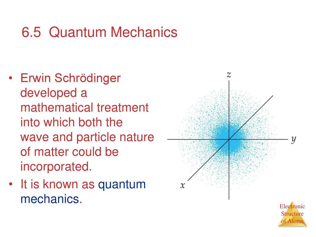 hight resolution of 6 5 quantum mechanics
